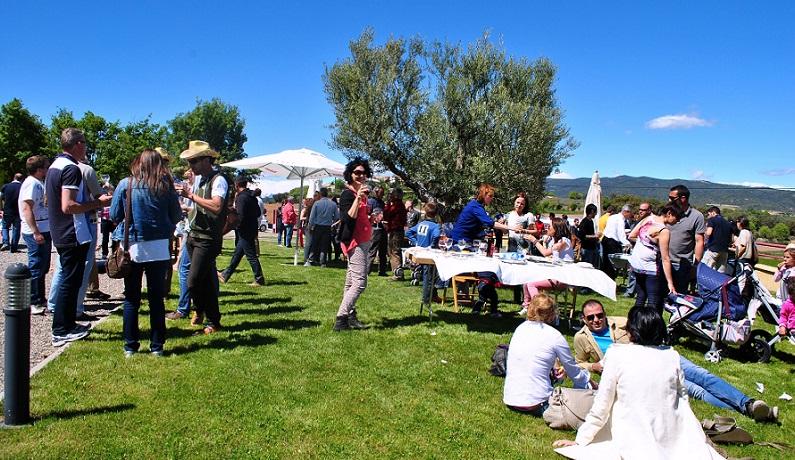 Organización de eventos en Bodegas Obergo